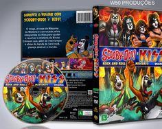 Scooby-Doo! E Kiss - Rock And Roll E Misterio CAPA - Capa | VITRINE - Galeria De Capas - Designer Covers Custom | Capas & Labels Customizados