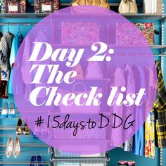 #15daystoddg : The (almost) Perfect Wardrobe Checklist (day 2)