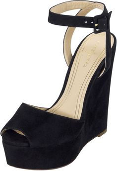 Cole Haan Black Jen Oil Mary Jane Suede Platform Sandal Black