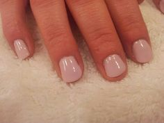 Shellac nails - I love this look and just did my nails like this now