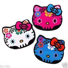 Hello Kitty Sanrio Dia de los Muertos Day of the Dead Sugar Skull Candy Tin!