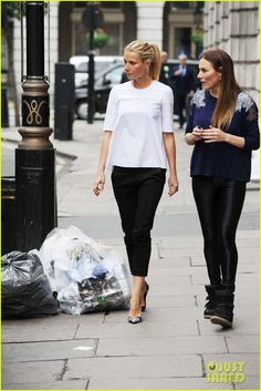 Gwyneth Paltrow: one of our favorites looking chic as always!