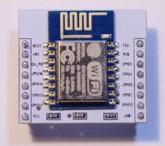 The is a WiFi module that allows you to connect an Arduino or other device to WiFi access points, or even create one. Claves Wifi, Light Up Dance Floor, Diy Projects Design, Open Source Hardware, Arduino Programming, Arduino Board, Electronic Engineering, Home Automation, Raspberry