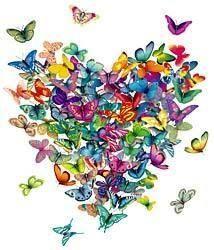 Cadeaux offerts - Album photos - Un papillon sur l'épaule