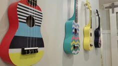 Love the idea of painting ukuleles! - Steven Dailey Construction #6
