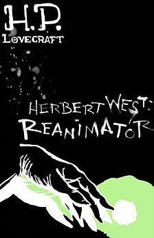 London-based illustrator Cait Peterson's portfolio and blog - Herbert West: Reanimator - a cover image created for an illustration brief on the short stories of H.P. Lovecraft.