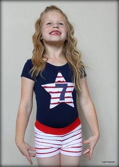 Items similar to Red White and Blue Gymnastics Leotard Birthday Outfit on Etsy Gymnastics Party, Gymnastics Outfits, Gymnastics Leotards, Jessie, Cheerleading, Little Girls, Red And White, Kids Fashion, Party Ideas