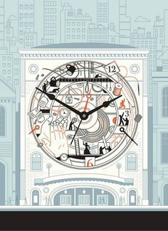 HARRY CAMPBELL ILLUSTRATION: 12 HOURS TO BROADWAY