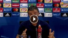 "Luis Enrique: ""Es un estímulo enorme"": ---- FC Barcelona on Social Media Subscribe to our official channel Facebook: Twitter: Google+:…"