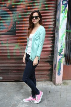 Outfit, moda, fashion, green, ootd, pastel colors, pastel, casual