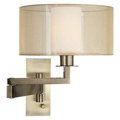 Pacific Coast Lighting 89-5924 Svende Swing Arm Wall Lamp - 89-5924B-02