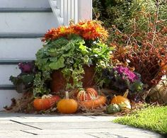 Bing fall decor imges | Outdoor Fall Decorations - Bing Images | Fall Favorites