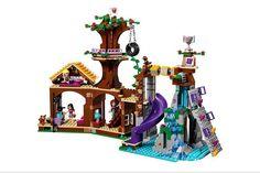 BELA 10497 Friends Adventure Camp Tree House tire swing Model Building Mini Girl - Blocks