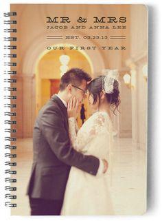 Marital Nostalgia Day Planner, Notebook, or Address Book