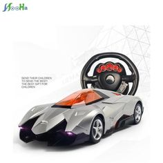 Trick One Key To Open The Door Simulation Model Toy Steering Wheel Remote Control