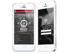 Heartbeat   Music Player iOS7
