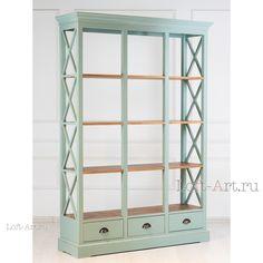 Книжный шкаф Grâce III - Книжные шкафы, стеллажи, полки - Гостиная и кабинет - Мебель по комнатам Loft Art