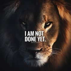 Positive Quotes : I am not done yet. - Hall Of Quotes Encouragement Quotes, Wisdom Quotes, True Quotes, Words Quotes, Sayings, I Am Quotes, Motivation Success, Success Quotes, Quotes Motivation