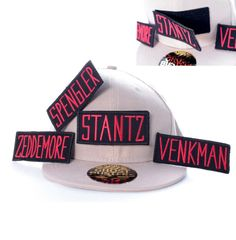 Ghostbusters Cap with Interchangable Name Patches - Only £18!!