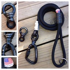 Ultimate Dog Leash built for the Big Dogs Made in USA. http://mydogscool.com/store/ultimate-climbing-rope-dog-leash/