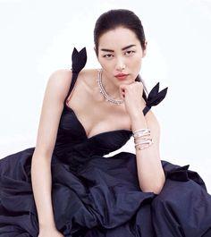 Congratulate, Chinese supermodel liu duo