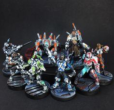 Panoceania Army of the Republic so far