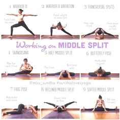7 best middle splits stretches images  middle splits