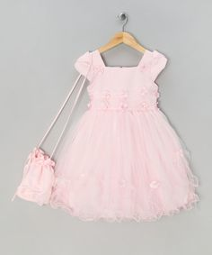 Take a look at this Pink Fairytale Dress  - Infant, Toddler & Girls by Couche Tot on #zulily today!