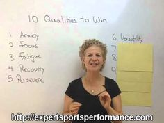 Sports Mindset Moment -- Olympic Athletes: 10 Qualities Needed to Win