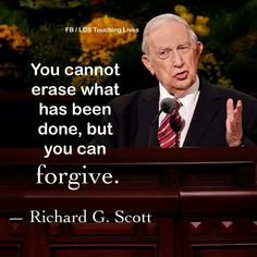 Forgiveness is not easy but it is possible! Mormon Quotes, Lds Quotes, Uplifting Quotes, Religious Quotes, Spiritual Quotes, Great Quotes, Inspirational Quotes, Prophet Quotes, Gospel Quotes