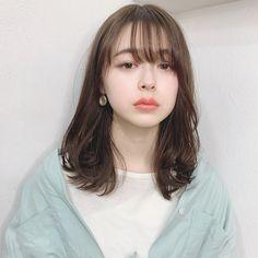Japanese Hairstyle, Hair Reference, Hair Health, Japanese Girl, Hair Looks, Girl Hairstyles, Short Hair Styles, Hair Makeup, Hair Cuts