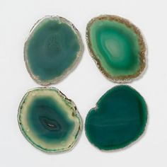 Agate Earth Coasters - Kitchen Copper + Jadeite | Terrain