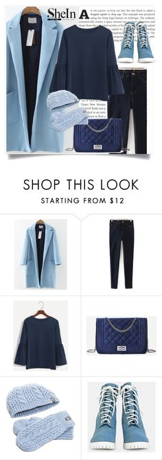 """SheIn 4"" by amrafashion ❤ liked on Polyvore featuring WithChic and The North Face"