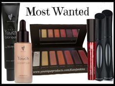 Younique's Most Wanted CollectionTouch Liquid Foundation- Moodstruck Addiction Palette- Lip Stain - Lashes+