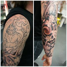 japanese elbow tattoos | ... elbow 3 hr sitting in and around the elbow ouch thanks for travelling