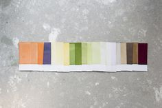 Rawcolor, a range of natural colours derived from vegetable pigments http://www.rawcolor.nl/project/?id=196=ownProduction#