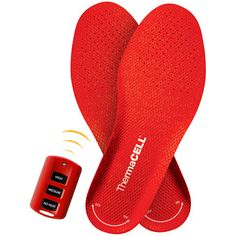 ThermaCELL Heated Insoles. Oh my, I need these!