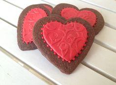 Sucre: Cajita de dulces San Valentín y Galletas de Chocolate