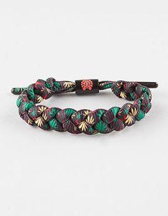 RASTACLAT Klink Shoelace Bracelet Multi                                                                                                                                                      Mehr