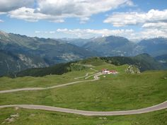 On top of the Jaufenpass (Giovo)