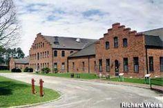 Avery Island, Louisiana -- Tabasco factory.
