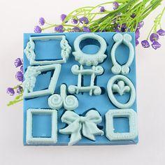 Frame Bows And Other Decorations Fondant Cake Chocolate Silicone Molds,Decoration Tools Bakeware MSKU4210129 by RUSTIKOcakeDecoratio on Etsy