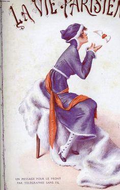 Henry Gerbault (1863 – 1930). La Vie Parisienne, 30 Octobre 1915. [Pinned 6-vi-2015]
