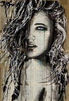 "Saatchi Art Artist Loui Jover; Drawing, ""stormy sky"" #art"