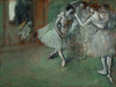 File:Edgar Degas - A Group of Dancers - Google Art Project.jpg