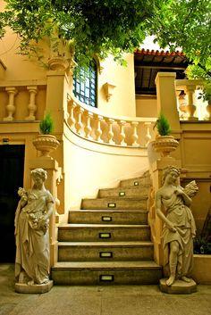 ღღ Interior details at the Majestic Cafe in Porto / Portugal (by Guizel J.c).  Beautiful Entrance!!!