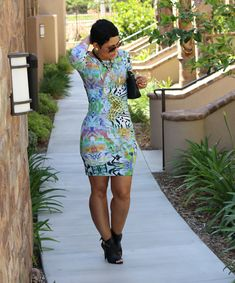 DIY Funky Print Dress - Mimi G Style