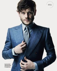 Iwan Rheon wearing my summer jacket in the latest issue of @therakeonline…