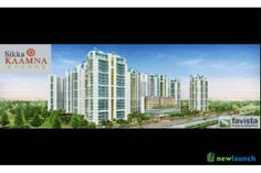 Sikka Kaamna Greens a new residential project launched in Sector 143 Noida with all modern amenities at discounted price, Sikka Kaamna Greens Noida offers  1 4 luxury Apartments. Get payment plan, specification, floor plan on www.new-launch.in