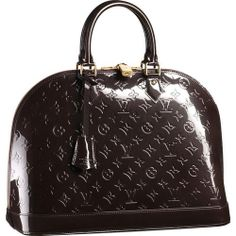For My Holiday ,Louis Vuitton Monogram Vernis Alma Mm M91449 Ana-258